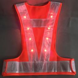 LED Light intergrated Safety Vest
